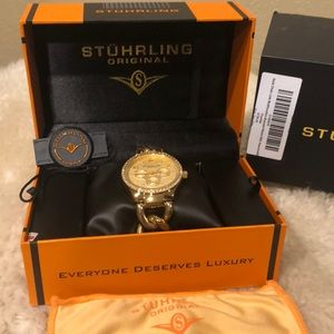 Stuhrling NWOT woman's chain watch